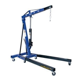 ENGINE CRANE, 2 TON FOLDABLE Jackaroo engine crane, JECF2T, |Pro Workshop Gear