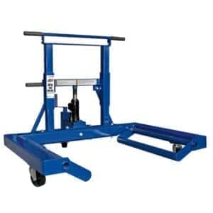 Truck Wheel Dolly 680 Kg- Jackaroo Truck Wheel Trolley JTWD680K, |Pro Workshop Gear