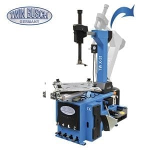 Wide Clamping Tyre Changer- Fit for mechanical and tyre shops,Twin Busch- TWX-31. |Pro Workshop Gear