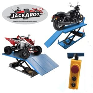 Motorcycle Lift 600 KG, Jackaroo, JMBL600, |Pro workshop Gear